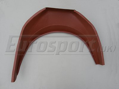 X1/9 Rear Inner Arch Outer Section O/S - Click Image to Close